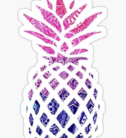 Pinapple Gradient Sticker