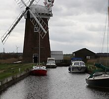 Horsey Windmill by Kirstenn7