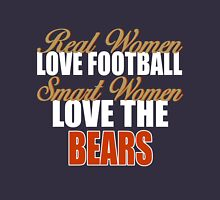 Real Women Love Football Smart Women Love The Bears T-Shirt