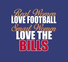 Real Women Love Football Smart Women Love The Bills Unisex T-Shirt