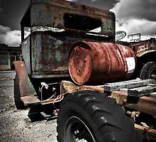 Caan River Truck by Trevor Middleton