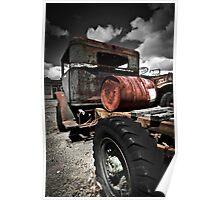 Caan River Truck Poster