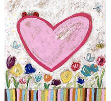 A Spring Heart Photographic Print