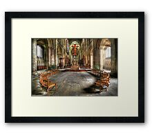 The Gathering - Peterborough Cathedral Framed Print