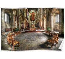 The Gathering - Peterborough Cathedral Poster