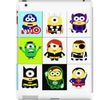 Minions - superhero mashup iPad Case/Skin