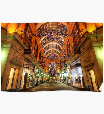 Nottingham Exchange Arcade Poster