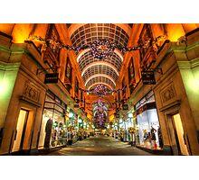 Nottingham Exchange Arcade Photographic Print