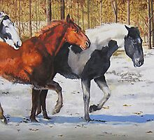 First Snow of the Season by Ronald Wilkinson