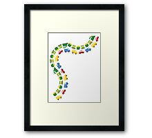 Boys Toys Transport Framed Print