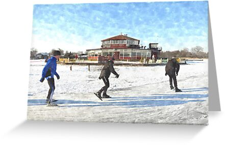 Ice Skaters by BillKret
