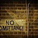 No Admittance by Lorraine Creagh