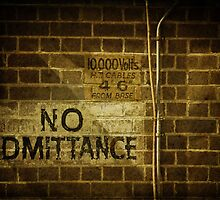 No Admittance by Lorraine Creagh