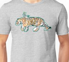 The King and His Tiger Unisex T-Shirt