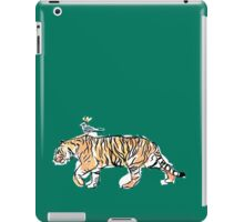 The King and His Tiger iPad Case/Skin