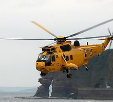 RAF Sea King at work by Tony Steel