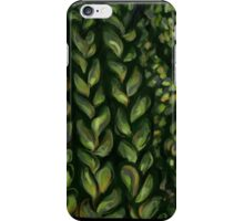 Cable Knit- Green iPhone Case/Skin