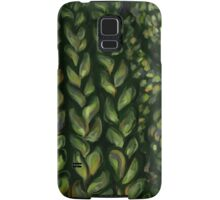 Cable Knit- Green Samsung Galaxy Case/Skin