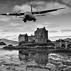 Flying over Eilean Donan Castle by Sam Smith