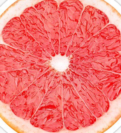 Slice of grapefruit Sticker