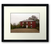 Glebe House Framed Print