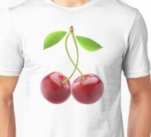 Pair of sweet cherries Unisex T-Shirt