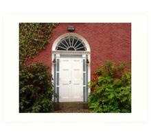 The Regency Doorway Art Print