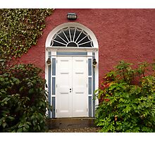 The Regency Doorway Photographic Print