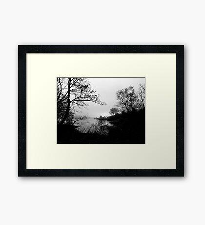 The Tranquility Of Lake Gartan Framed Print