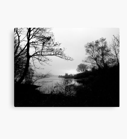 The Tranquility Of Lake Gartan Canvas Print