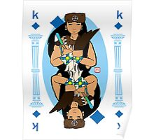 King of diamonds Poster