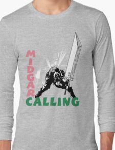 Midgar Calling Long Sleeve T-Shirt