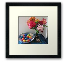 happy easter to you! Framed Print
