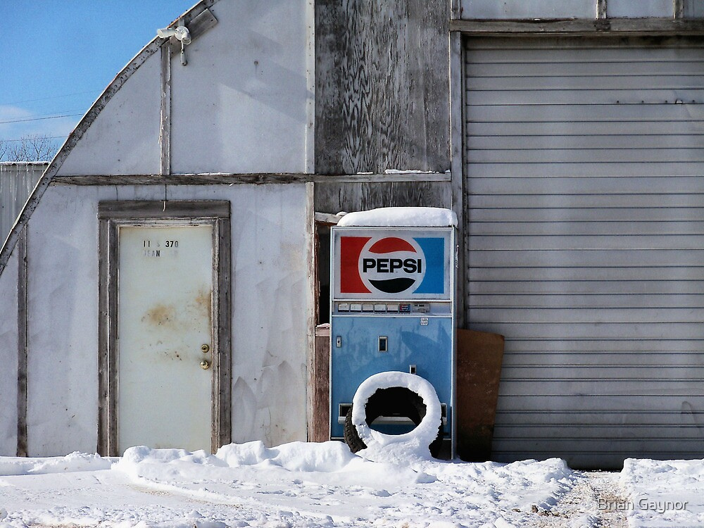 Iced Cold Pepsi by Brian Gaynor