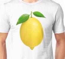 Lemon with leaves Unisex T-Shirt