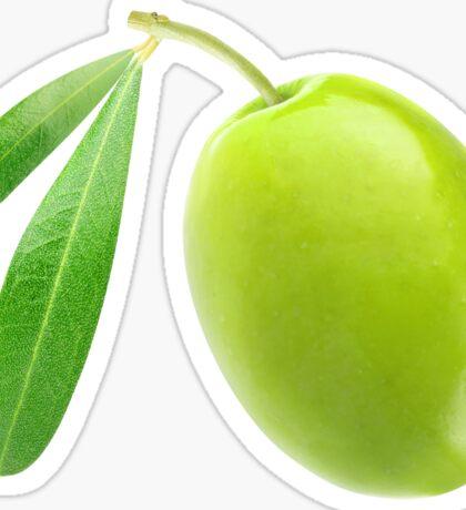 Green olive Sticker