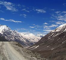 On the Road in Lahaul Valley by SerenaB