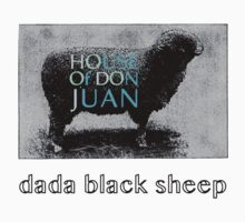 547946 Dada Black Sheep Kids Tee