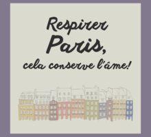 Respirer Paris Kids Tee