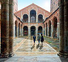 Monastere San Ambrosio - Milano by wulfman65