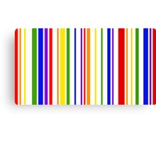PRIDE in Barcode Canvas Print