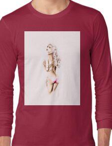 holly beauty Long Sleeve T-Shirt