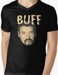 Buff Bagwell - BUFF Mens V-Neck T-Shirt