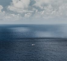 Alone on the open seas by Chris Fletcher