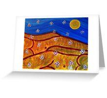 Sahara Sunshines - The Manna Falls From Sky Greeting Card