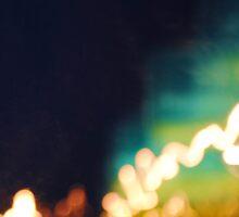 Car Lights 2 by Mikaela Malanga