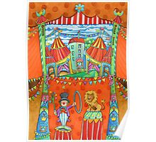 art for kids - circus kupus Poster