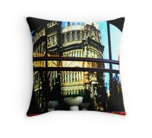 Near Preoccupation in DC Throw Pillow