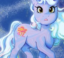 Blue Celestial Pony Sticker