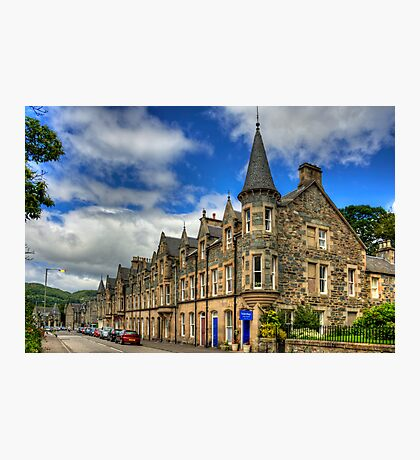 Birnam High Street Photographic Print